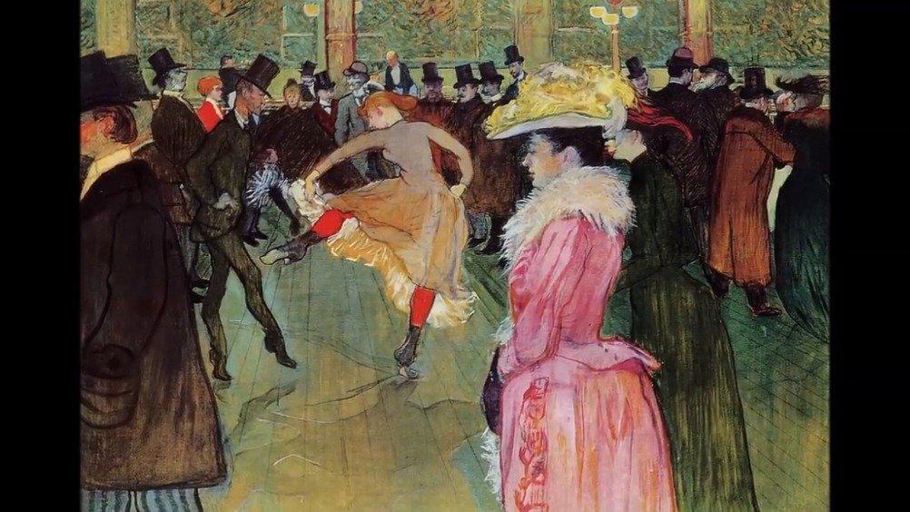睡前分享 法国艺术家 亨利·德·图卢兹-洛特雷克 作品集锦 他是法
