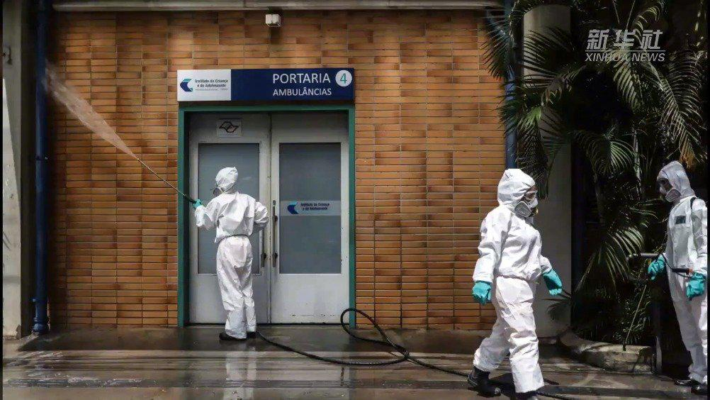 西班牙《国家报》称巴西将是下一个新冠病毒全球大流行中心