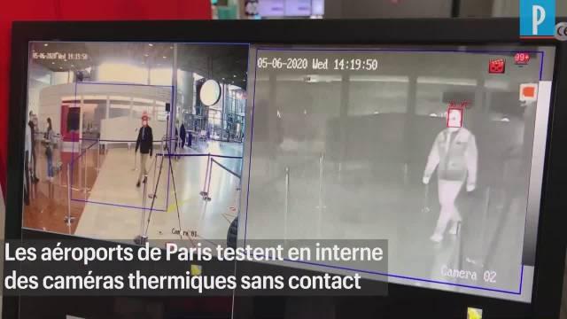 法国ADP集体希望在巴黎的戴高乐机场和奥利机场安装红外测量体温的仪器……