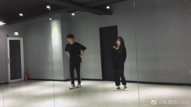 不止有男团舞:WekiMeki成员磪有情练习室跳《Senorita》