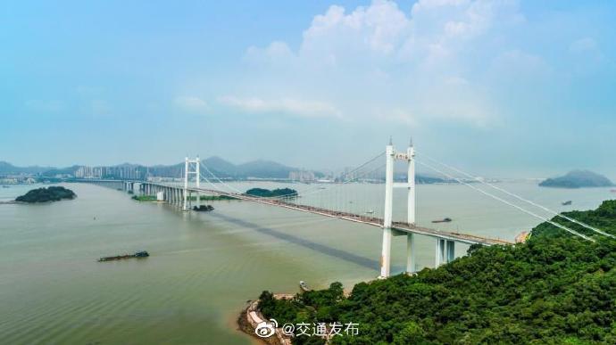 高德代理:虎门大桥高德代理悬索桥通过结构安图片