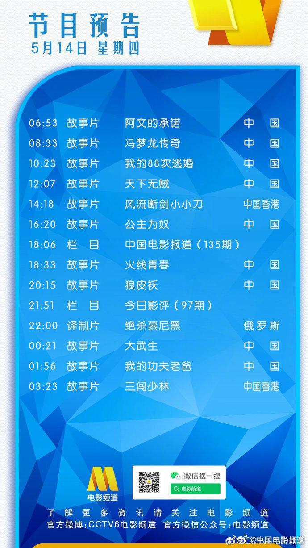 今日重点推荐:刘德华、刘若英、王宝强主演的电影《天下无贼》、俄罗斯高分电影《绝杀慕尼黑》