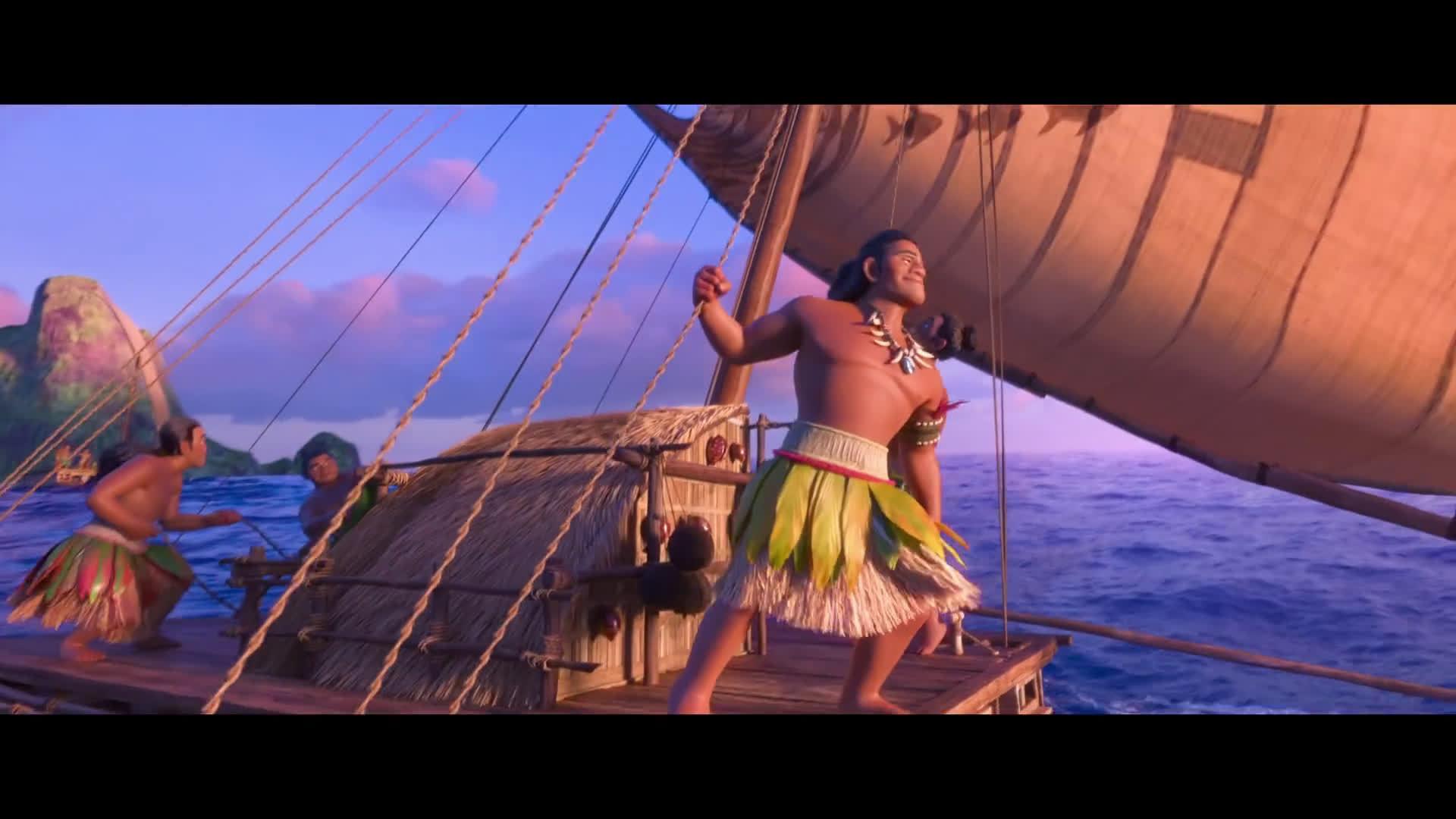 迪士尼发布了《海洋奇缘》歌曲We Know The Way的跟唱版视频