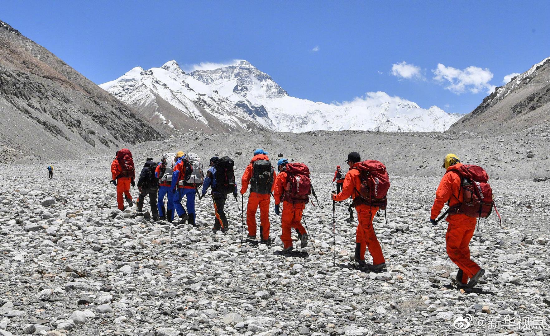 测量登山队再次向珠峰发起挑战 有望5月22日登顶图片