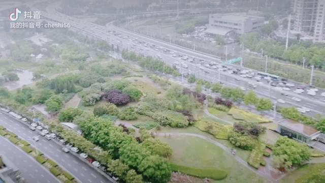 郑州东区俯瞰中州大道民航路