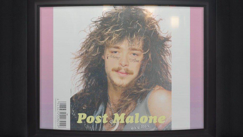 """80年代画风的马龙Post Malone单曲""""Circles""""可还行……"""