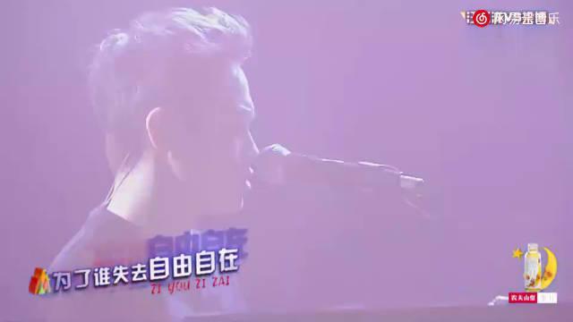 梁博《表态》现场版Live,梁博正如他说:灵魂歌手,开唱瞬间……
