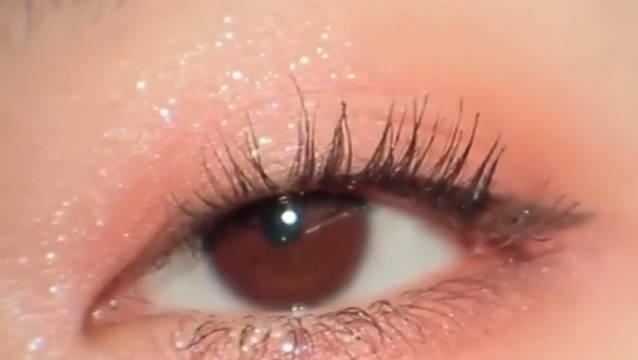 blingbling仙气珊瑚棕眼妆晕染🌟