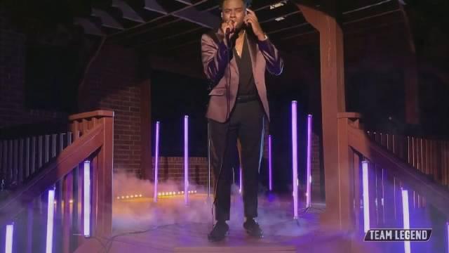传奇哥队决赛进军者CammWess翻唱表演Prince经典之作「Purple