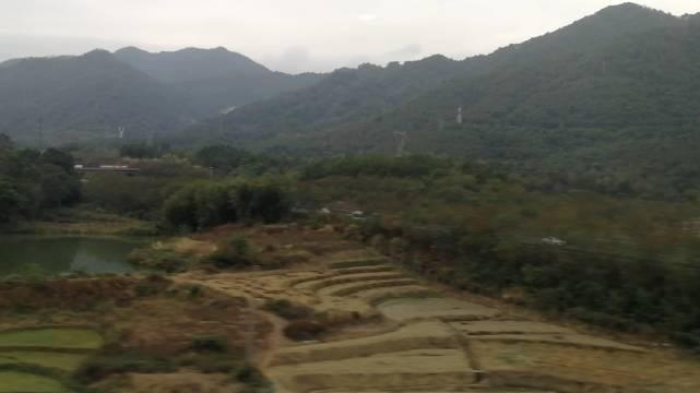 穿越南岭,从南粤回江南的路上风光