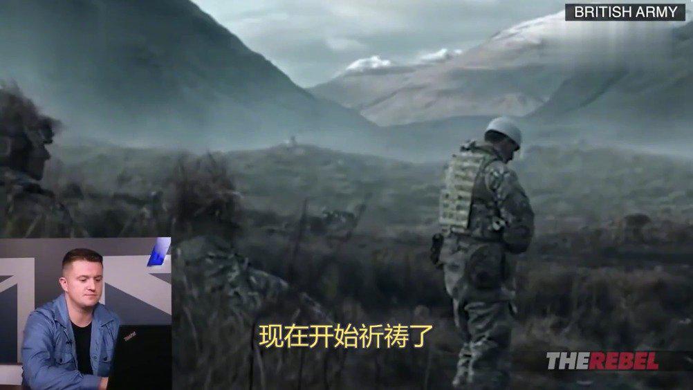 Tommy Robison分别给中国、英国和俄罗斯的征兵广告来了个测评……