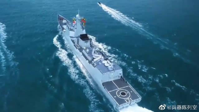 """570""""黄山""""舰属于054A型导弹护卫舰……"""