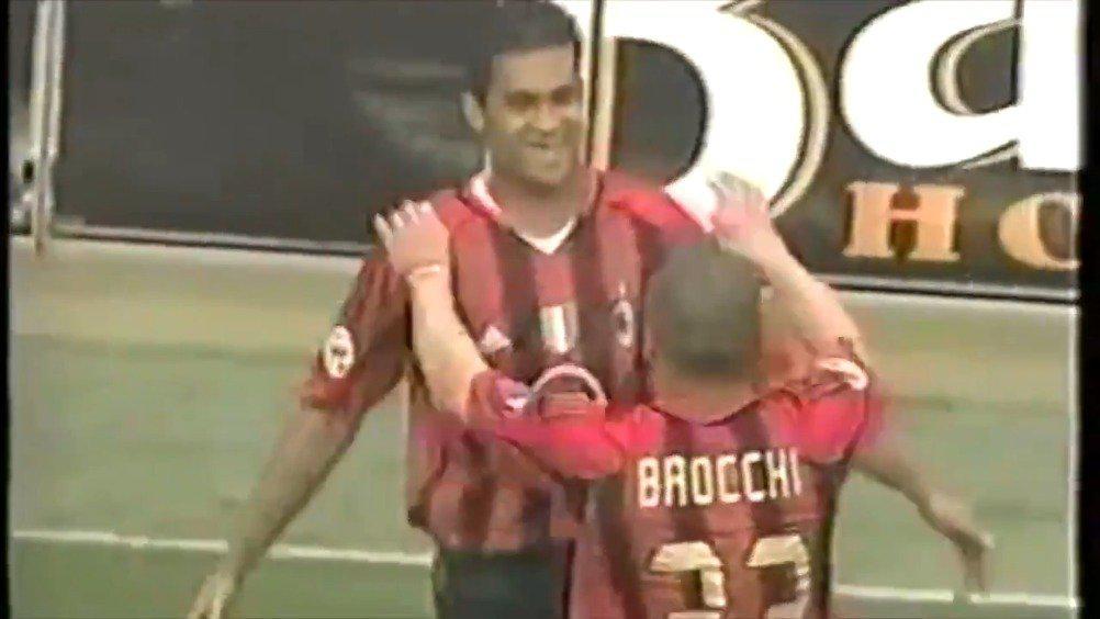 2005年的今天,AC米兰对阵巴勒莫,塞尔吉奥破门