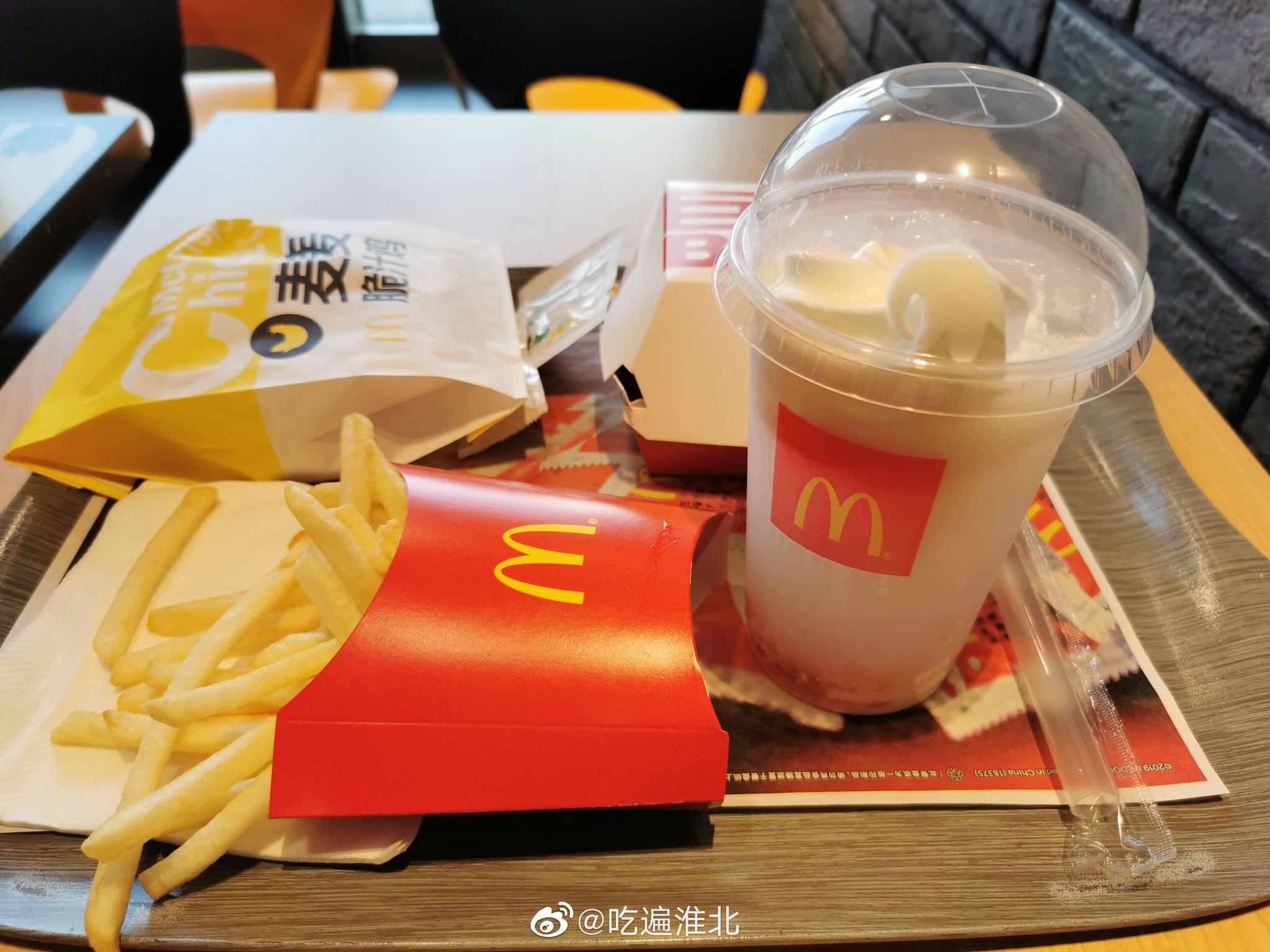 麦当劳的麦麦脆汁鸡➕ 青花椒粉 绝啦~ 波波椰奶没有图片上漂亮