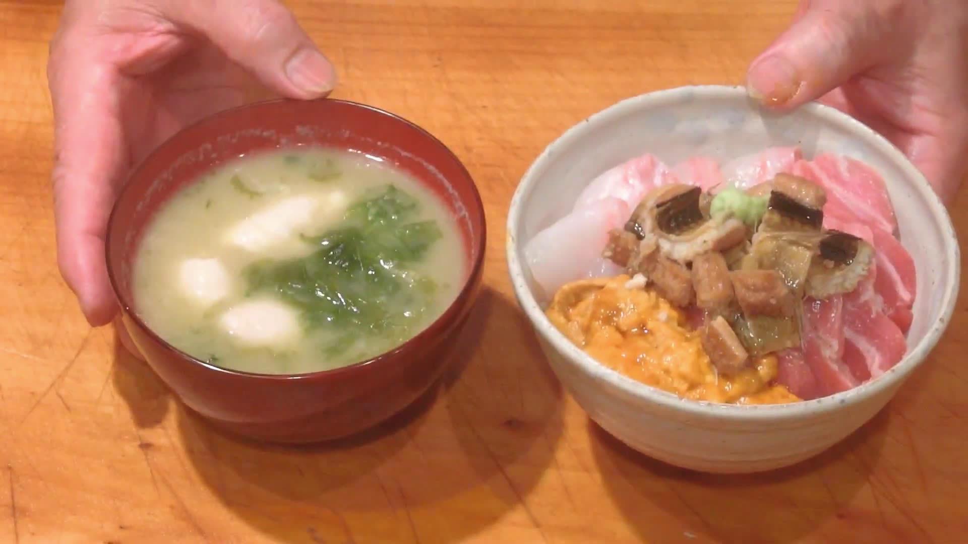 早饭·海鲜丼