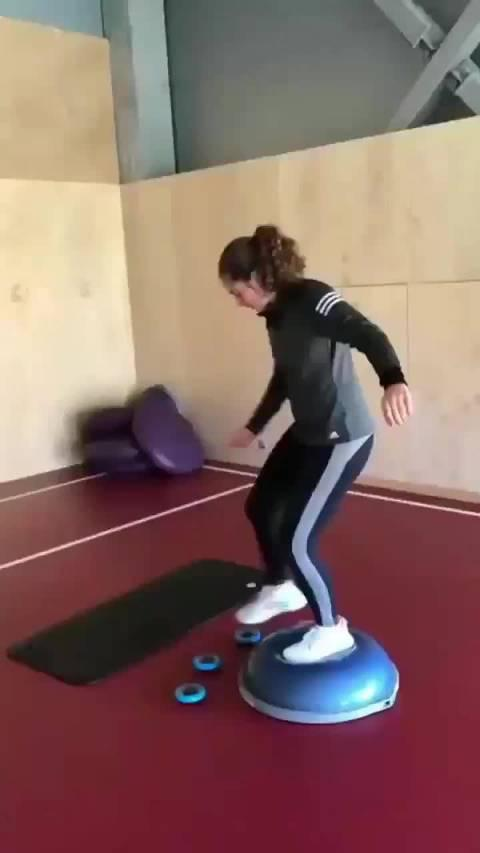 奥斯塔彭科平衡性&反应力训练 你们能做到吗?