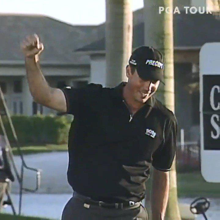 2002年3月10日,马特-库查尔的第一个美巡赛冠军