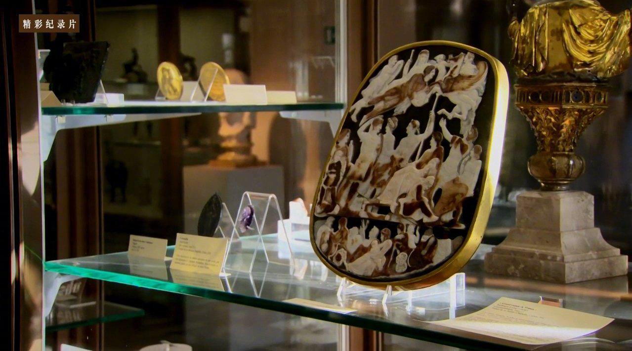 宝石浮雕 Carving of Gemstones