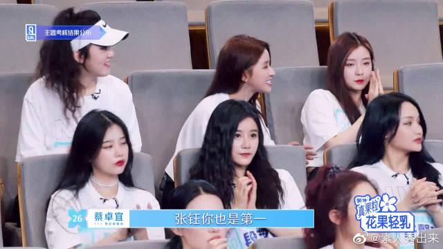 刘雨昕VS虞书欣,刘雨昕183票强势登顶节目