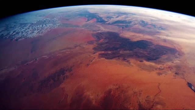 从国际空间站俯瞰撒哈拉沙漠,是种什么样的体验?