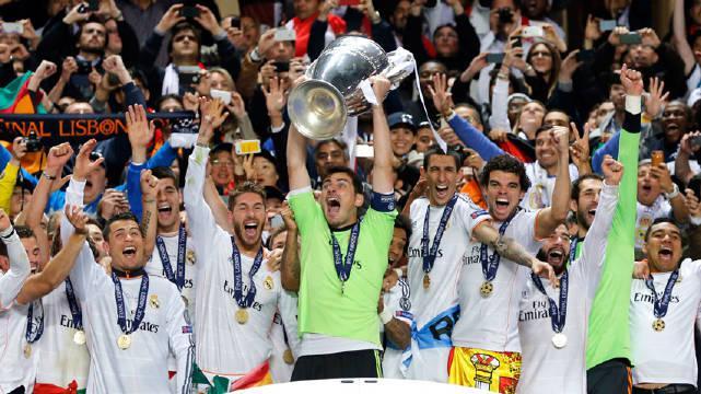 2014年的这一天,塞尔吉奥·拉莫斯使欧冠第十冠成为可能