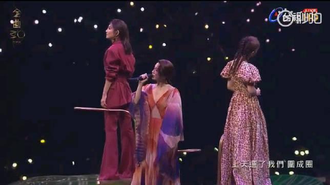 S.H.E三人合体表演 《美丽新世界》+《十七》live 不管世界怎么