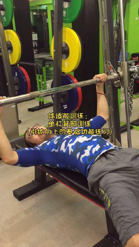 体适能训练:单杠背部训练 (引体向上的基础功能练习)