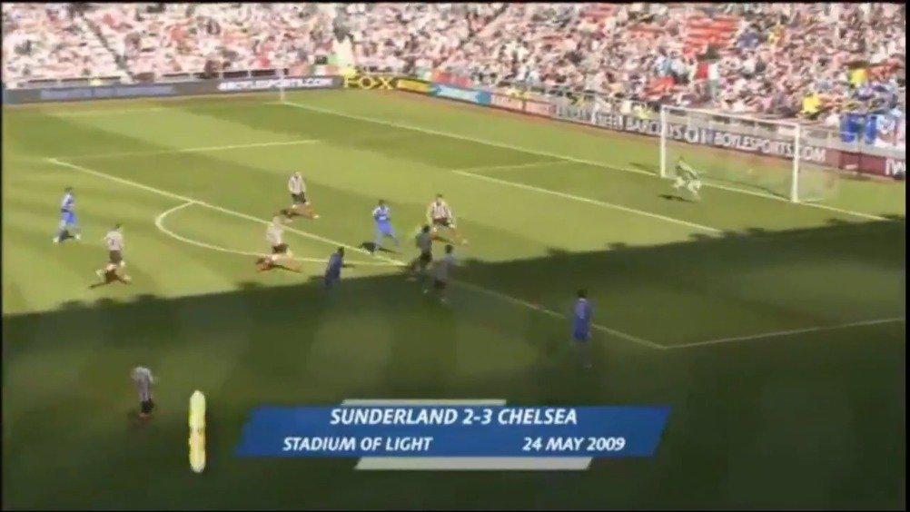 2009年的今天,阿内尔卡打入了这个进球
