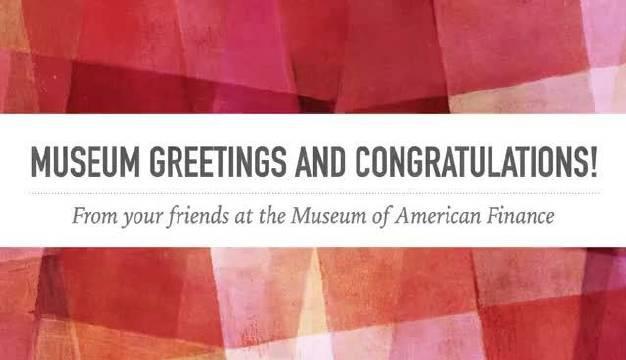 的三位董事为@中国金融博物馆集团 成立十周年发来视频祝贺……