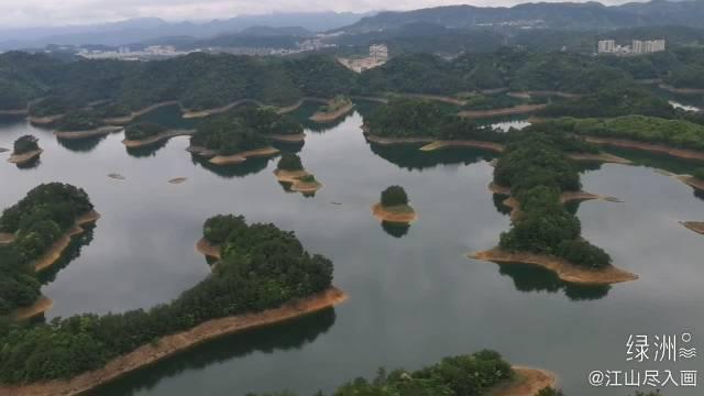黄山尖俯瞰千岛 疫情影响,千岛湖游客恢复不到往年一半……
