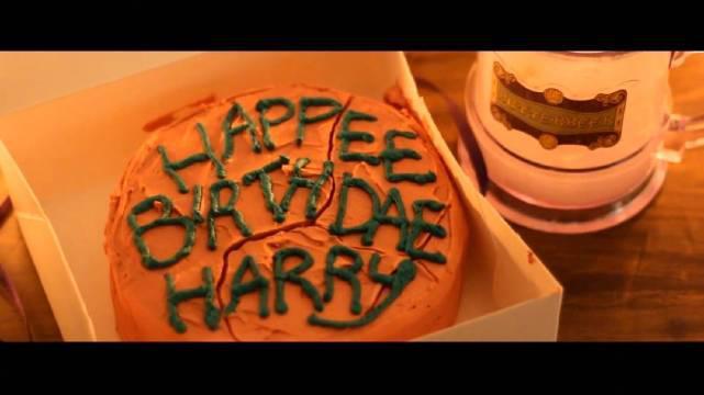 哈利·波特的生日蛋糕