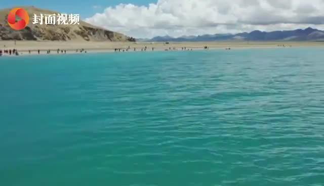 行走317(38)纳木错:海拔4718米,中国第三大咸水湖