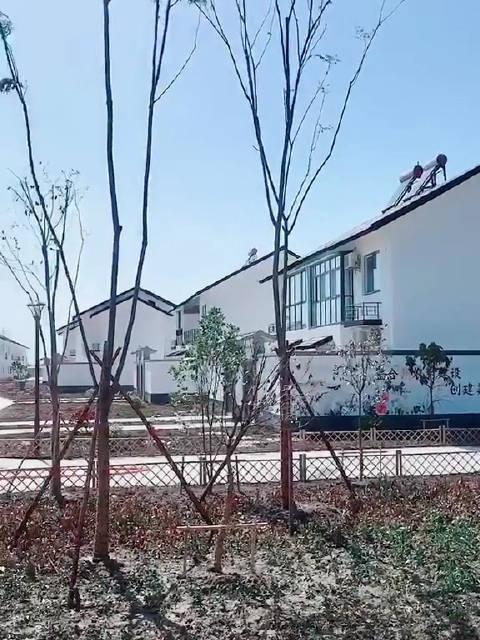 散装江苏,苏北盐城农村的房子,你们说漂亮吗?