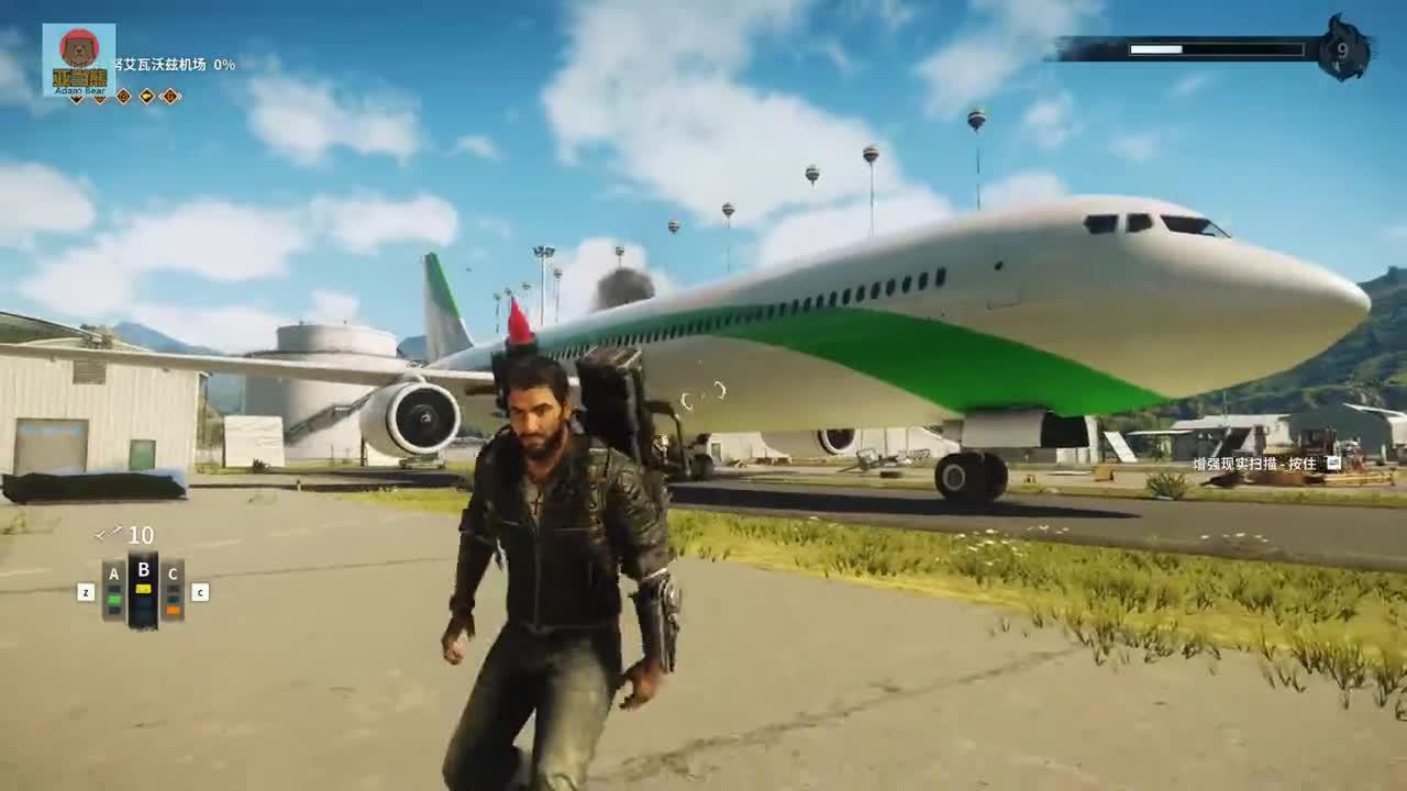 正当防卫4:10个热气球能否拖起大客机