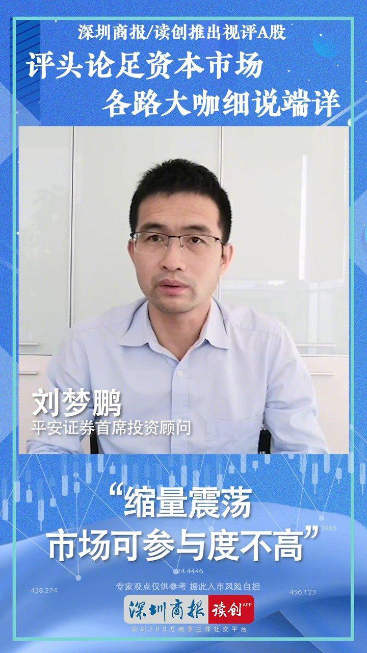 平安证券刘梦鹏:缩量震荡 市场可参与度不高