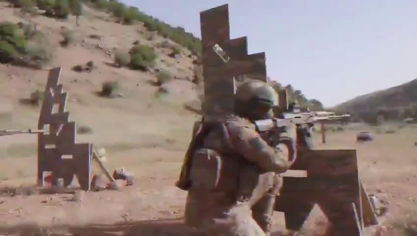 """黎巴嫩真主党特种部队——""""ar-Rudwān部队""""训练宣传视频"""