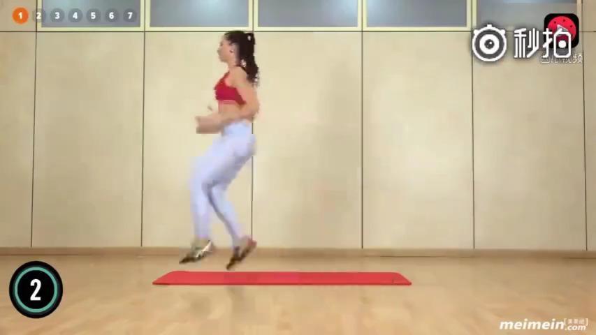 5分钟暴汗快速减肥运动,瘦臀部瘦大腿内侧动作……