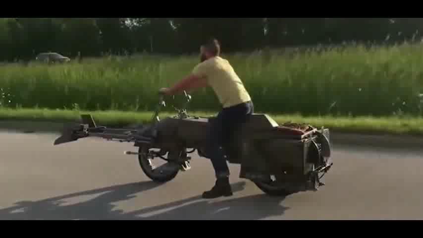 电影中的炫酷的摩托车,这里都能看到!!
