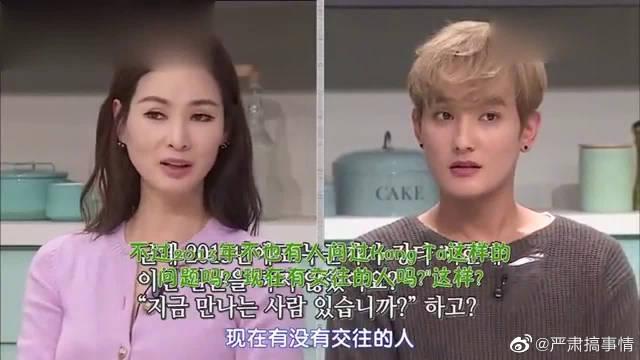 安七炫节目大赞宋茜,在节目说是理想型后被断了联系~