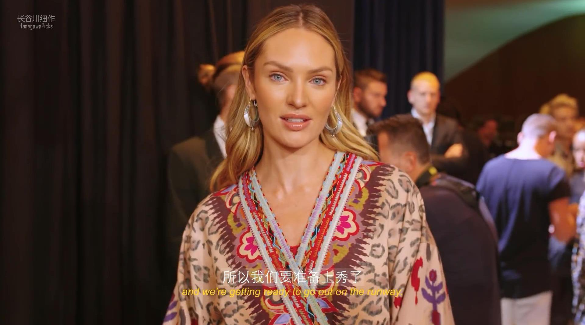 「字幕」Vogue 跟拍超模 Candice Swanepoel 的米兰时装周走秀日