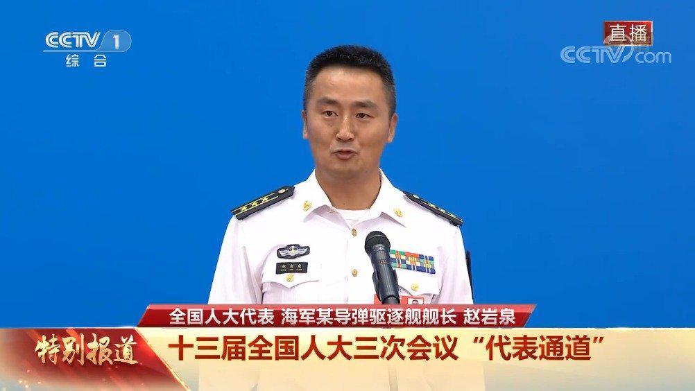 海军代表赵岩泉:讲述央视报道的发生在亚丁湾的故事