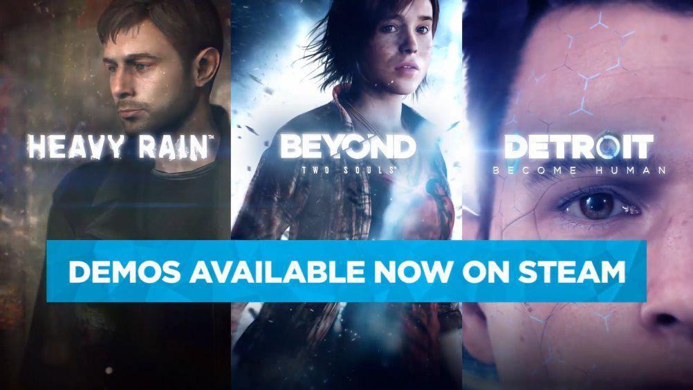 Quantic Dream宣布《暴雨》、《超凡双生》、《底特律 成为人类》