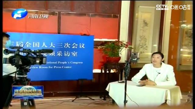 20200527河南新闻联播,婷队有个采访,不过不是今天播