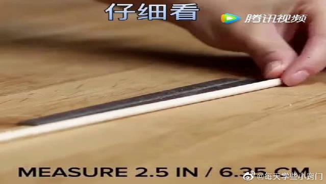 分享生活小妙招,巧妙利用一次性筷子!