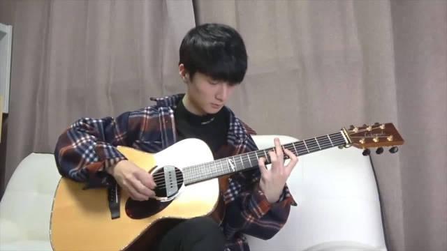 郑成河吉他指弹《圣诞节我只想要你》