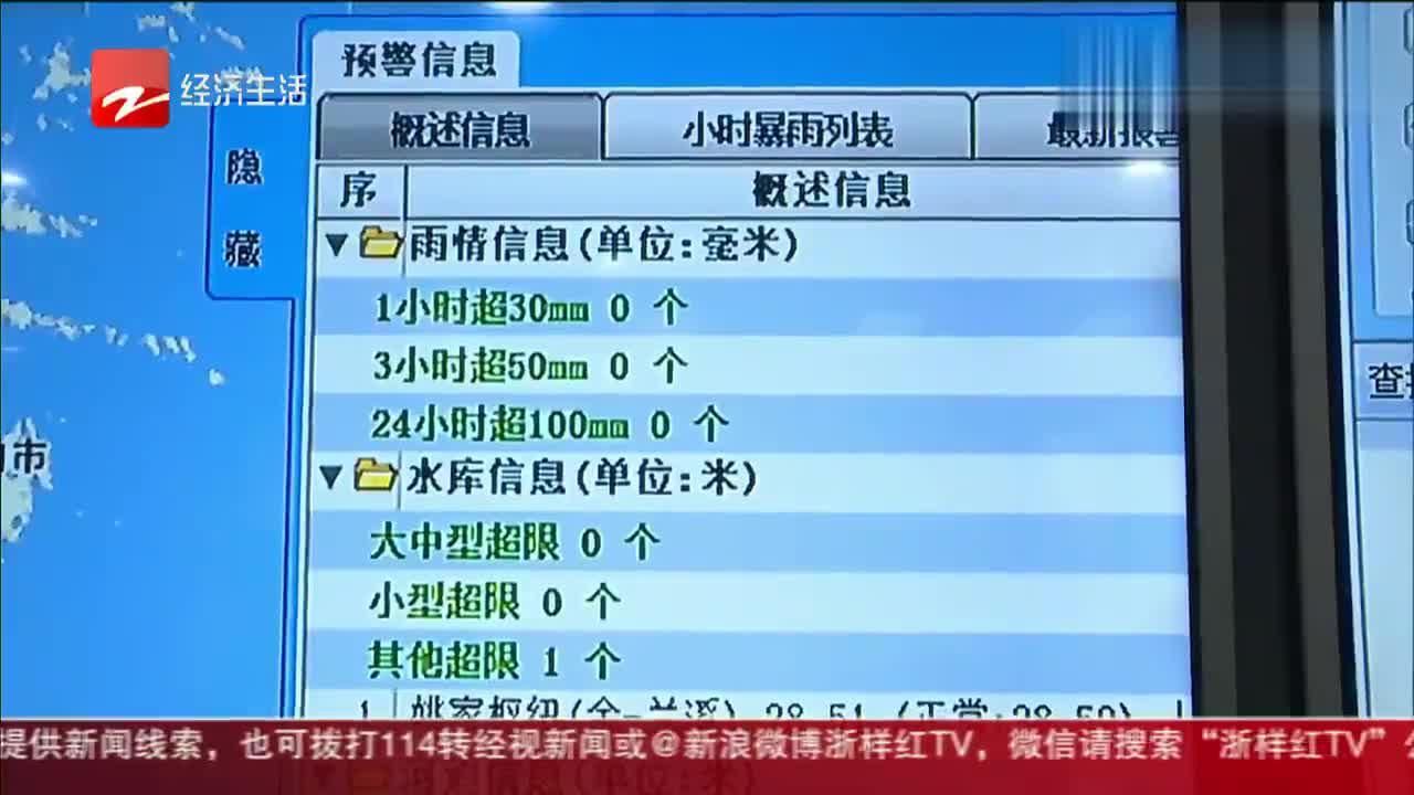 两轮强降水影响浙江  省防指办:加强洪涝灾害防范