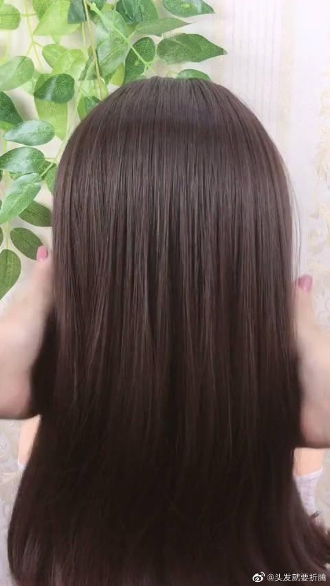 天气越来越热,教你一款方便又凉快的发型,一眼就让人爱上了!