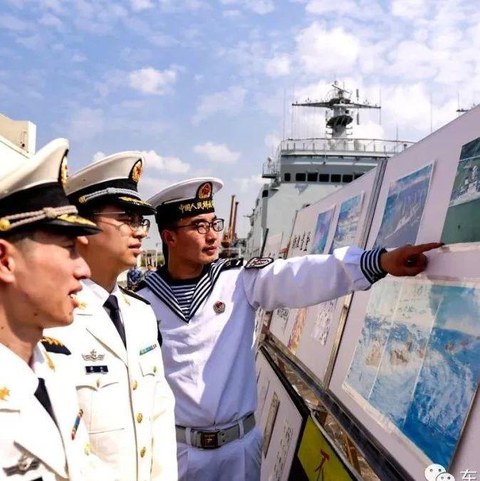 """燃爆!""""登陆先锋""""这场水兵文化节现场画面来了"""