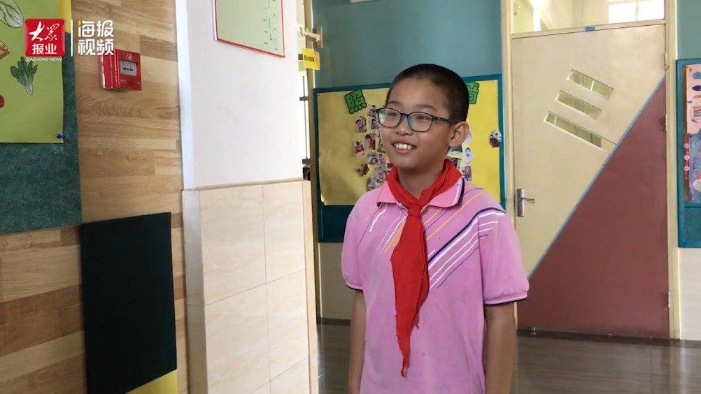 海报视频丨济南小学生们返校第一天:听他们最想说点啥……