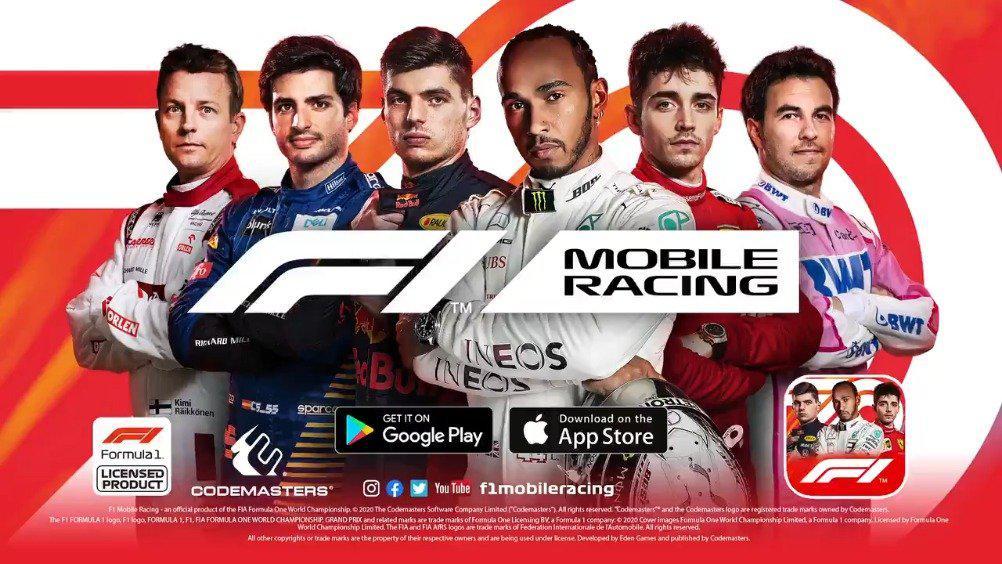 F1官方手机游戏《F1 Mobile Racing》2020赛季更新版已经正式上线